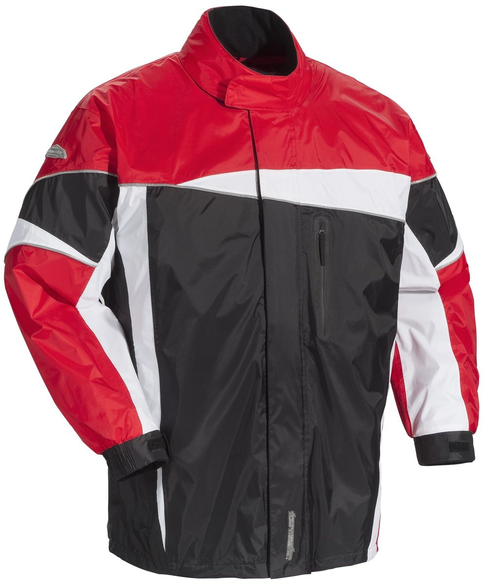 Tour Master Defender 2.0 Two-Piece Rainsuit XL Red