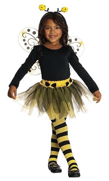 Amazon.com: De la niña de la abeja – Disfraz Disfraz de ...