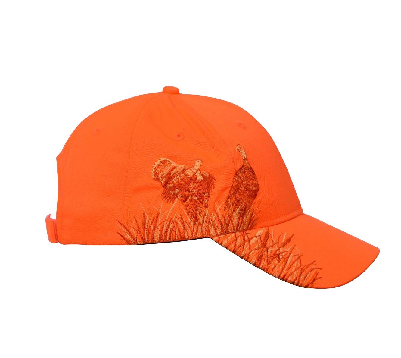 KC Caps Men Hunting Hat Orange Embroidered Baseball Cap Adjustable Back  Closure Neon Orange Pheasant ht23-Neonpheasant fc43e843b70c