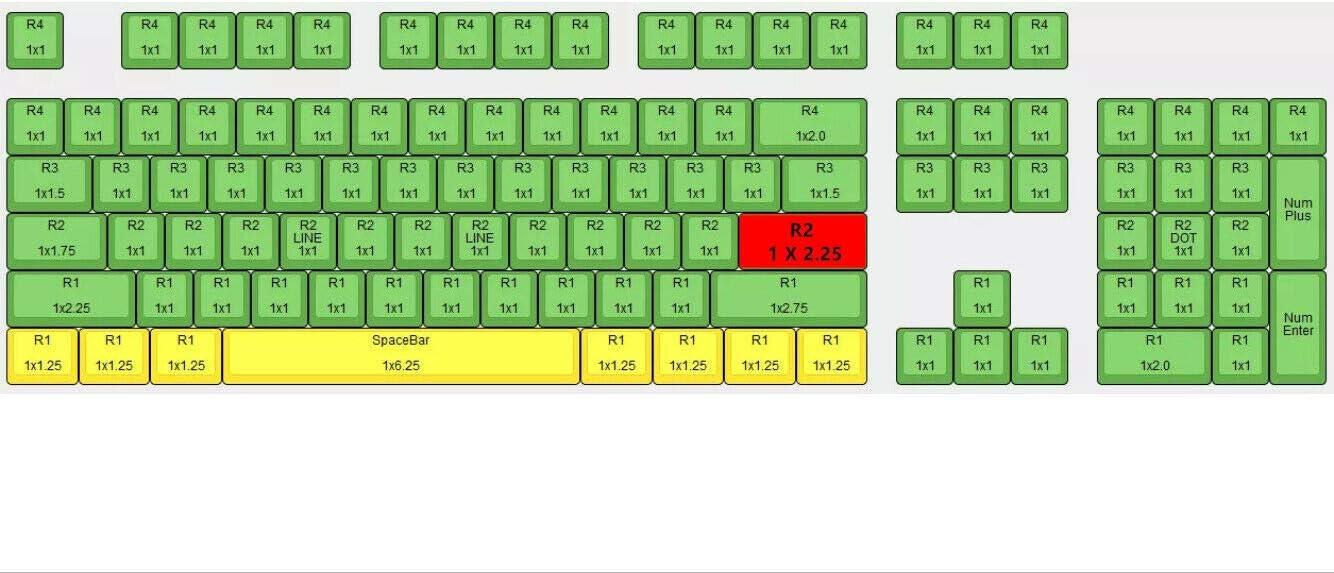Amazon.com: 108 Keys Sakura Cherry Profile PBT Keycaps Top ...