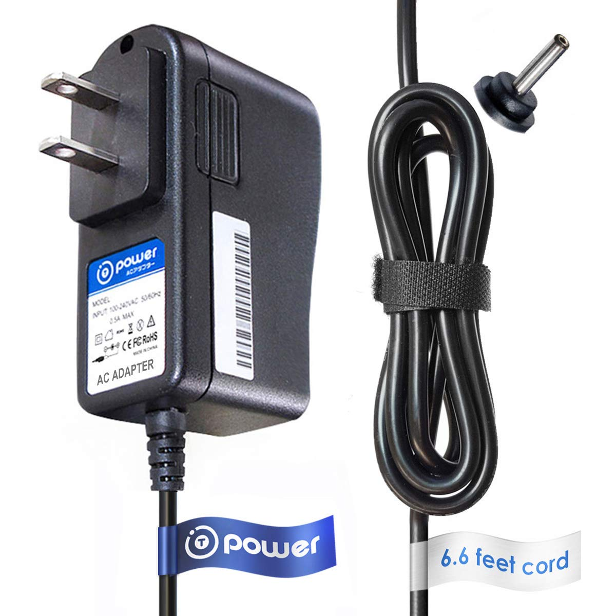T-Power ( 6.6ft Long Cable ) AC Adapter fit FOR Sirius/XM Connect SXDPIP1/SDPIV1/XPVD1/XDPIV1 Replacement switching power supply cord charger wall plug spare