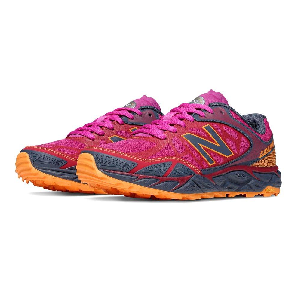 New Balance Women's Leadvillev3 Trail Shoe, Pink/Grey, 7 B US