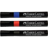 Pincel Marcador 12 Unidades, Faber-Castell, Azul