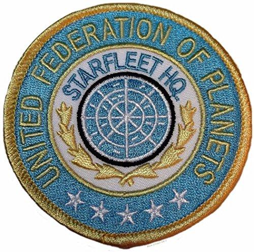 (Star Trek United Federation of Planets Starfleet HQ Original Series Patch)