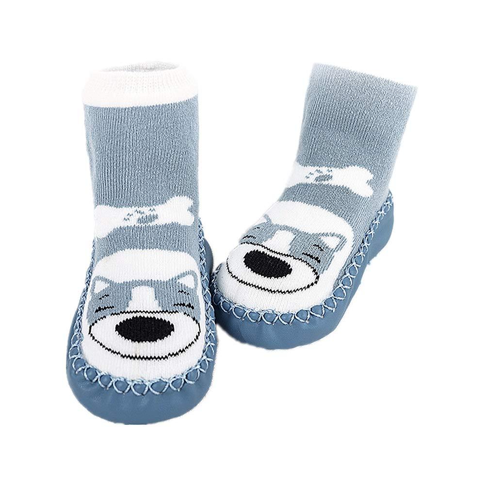 Lindo Calcetines de Bebé Niños, DOTBUY 1 pares Unisexo Cálido Grueso Niñas Calcetines Cómodo Suave Absorben el Sudor Navidades Calcetines Socks para: ...