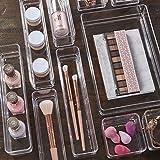 STORi Clear Plastic Makeup & Vanity Drawer
