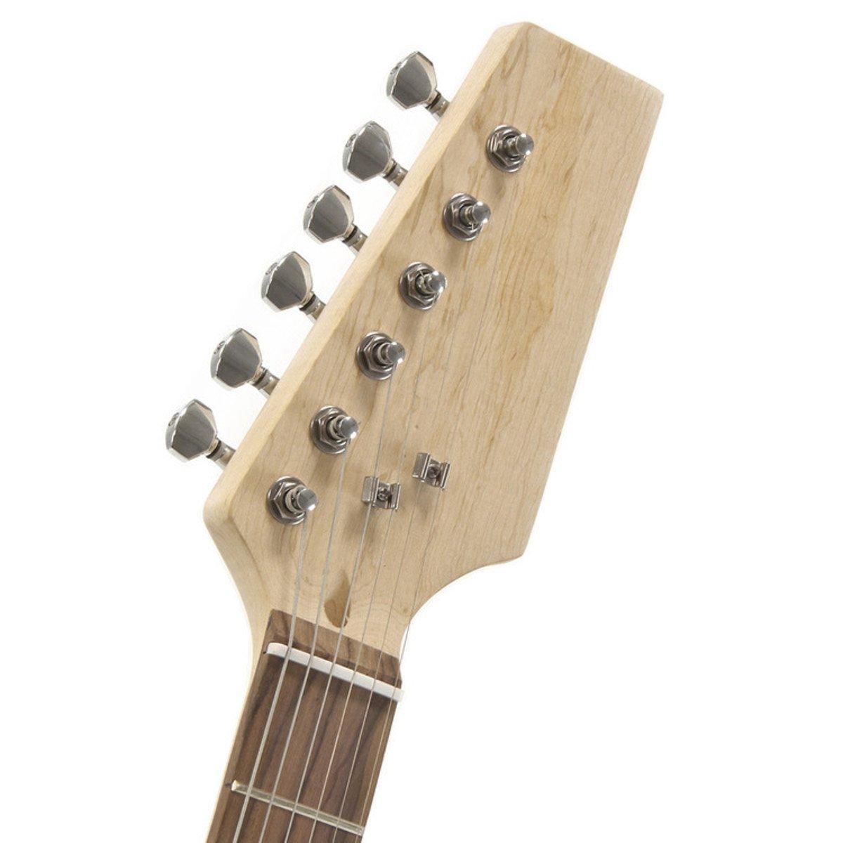 Kit de Bricolaje de Guitarra Eléctrica LA - Cuerpo de Fresno: Amazon.es: Instrumentos musicales