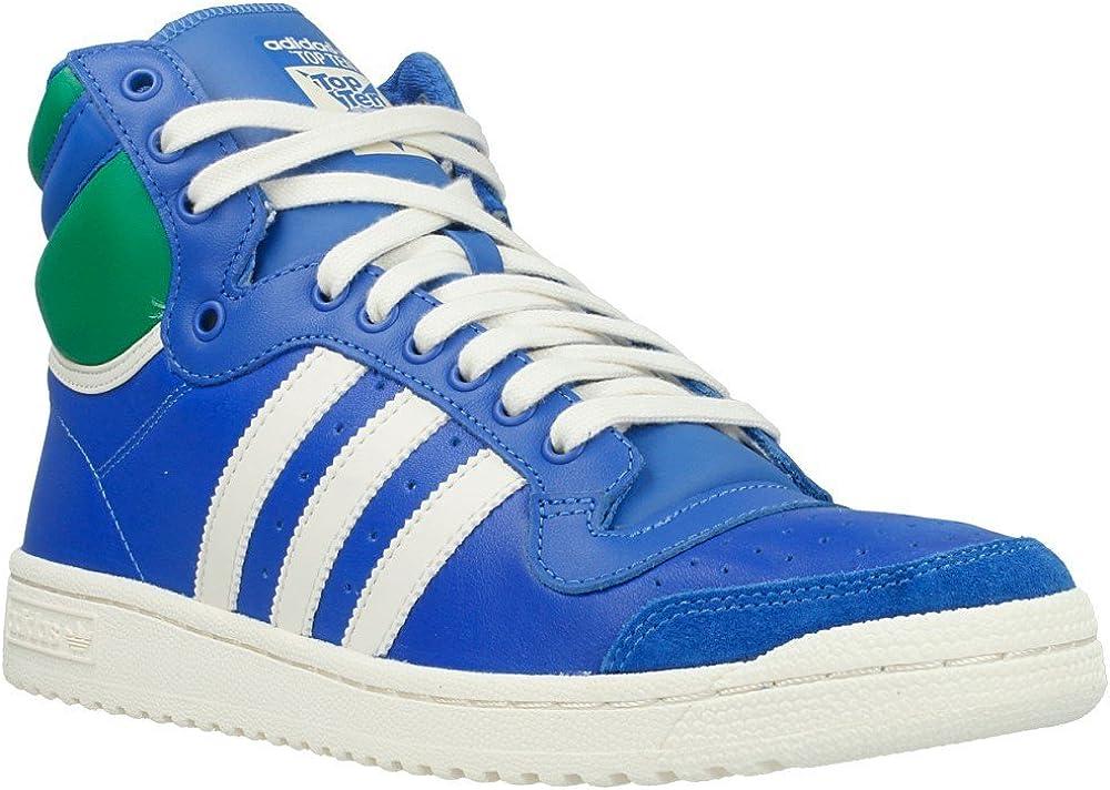 Adidas - Top Ten HI - Color: Azul-Verde - Size: 42.6: Amazon.es ...