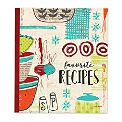 A stylish way to preserve your favorite recipes and keep them organized. This attractive and practical recipe card binder includes 20 acetate pages with sleeves that hold 4 x 6 recipe cards and comes complete with category dividers. Brownlow ...