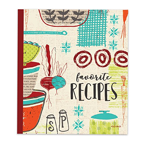 Brownlow Gifts Recipe Binder Set with Plastic Page Protectors and Recipe Cards, Made With Love by Brownlow Gifts