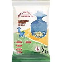 R0YAL UMBRELLA Thai Fragrant Brown Rice, 2 kg