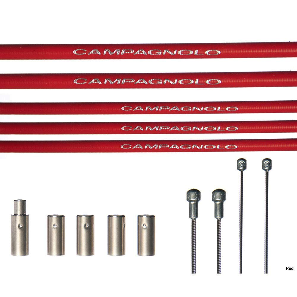 /Campagnolo Kit Cables Y Fundas Us+PS Blanco