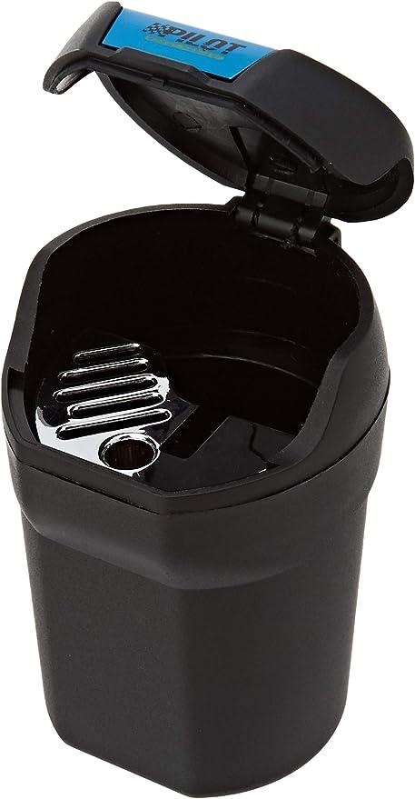 Pilot LA/_65461 Cenicero magn/ético para Coche Aluminio Color Negro