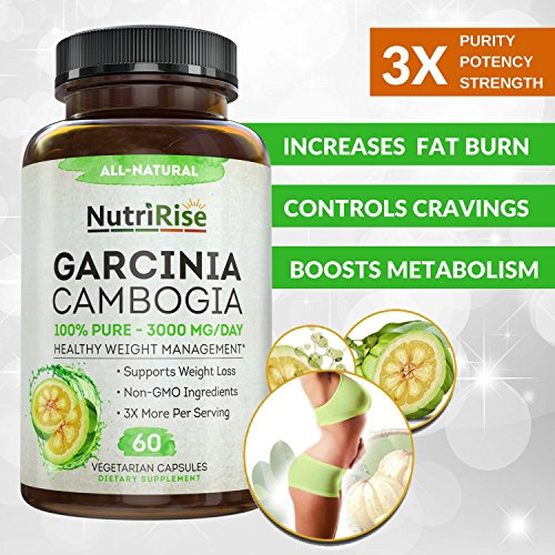 100% Pure Garcinia Cambogia Extract with HCA for Fast Fat ...