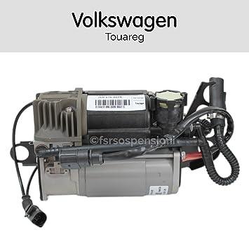 7L0616007A - Compresor de aire suspensión neumática para Volkswagen: Amazon.es: Coche y moto