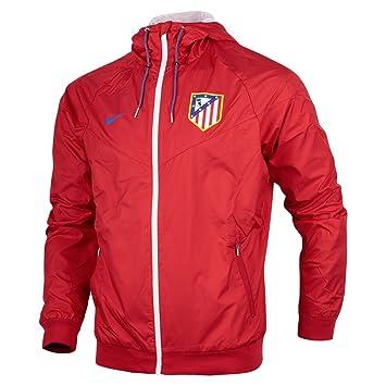 Nike Atlético de Madrid M NSW WR Wvn Aut - Chaqueta para Hombre, Color Rojo