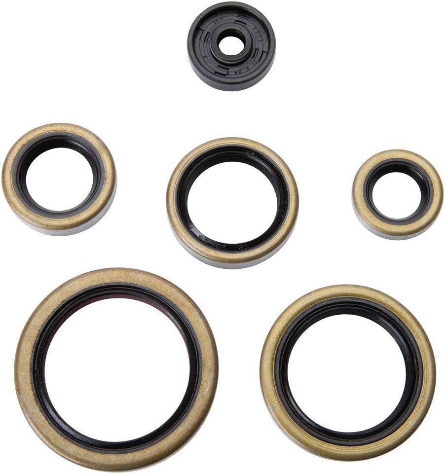 TUSK Engine Oil Seal Kit Fits Husaberg TE 250 2012-2014