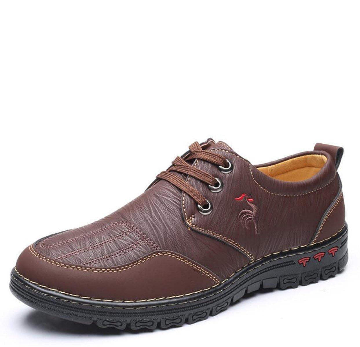 Herbst Schuhe Outdoor Freizeitschuhe Herrenschuhe Männer Hand Stich Wild Wanderschuhe Herrenschuhe Freizeitschuhe Braun 5d3cf9