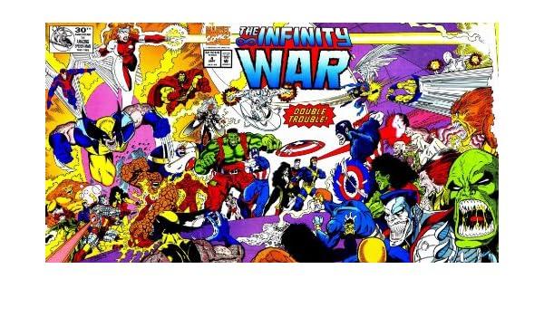 Amazoncom The Infinity War 4 Mortiferous Artifice Marvel