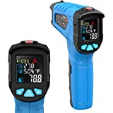 Infrared Thermometer, Non-Contact Digital Laser Infrared Thermometer Not for Human Temperature Gun -58℉~1022℉ (-50℃~550℃) wit