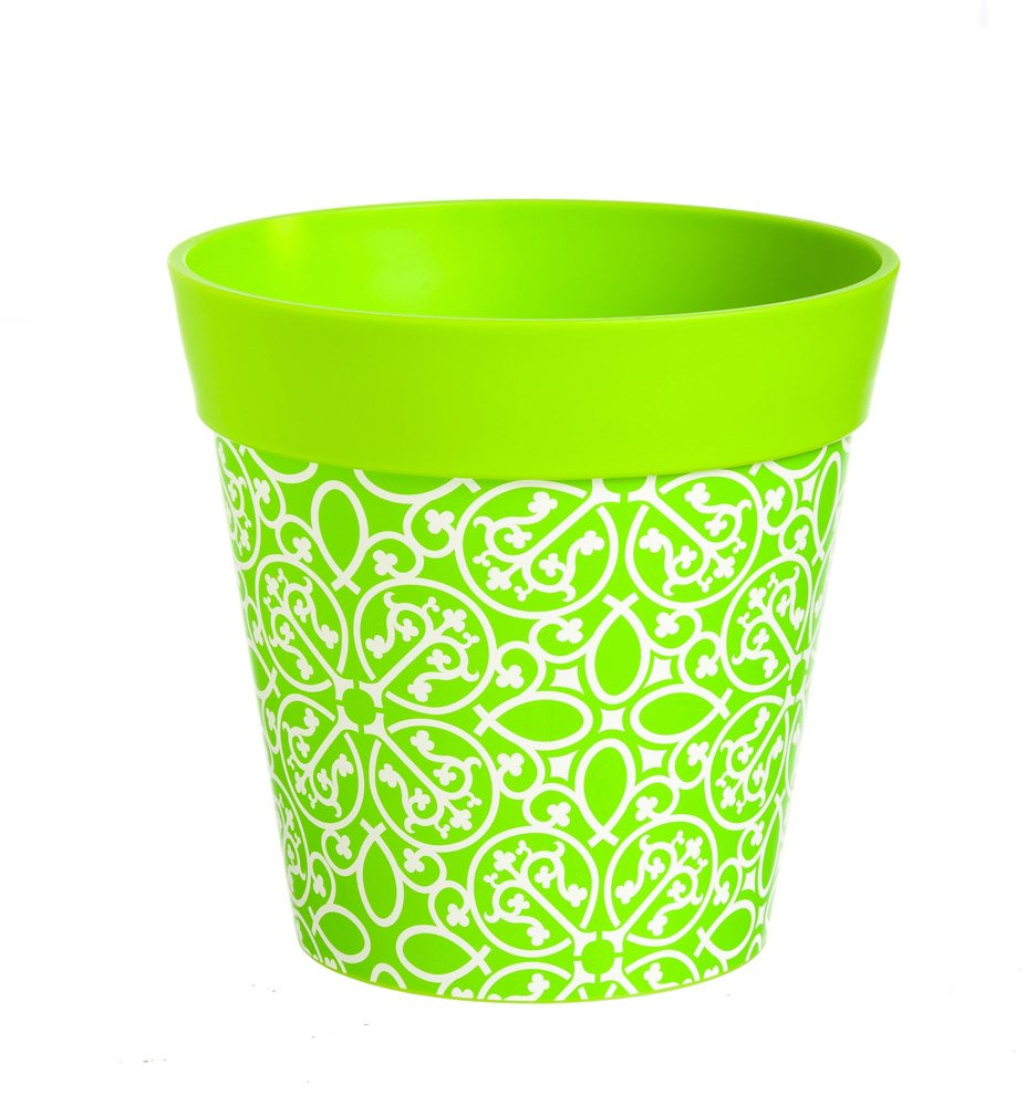 New Creative Green Lattice HUM Flowerpot with 5 Liter Capacity