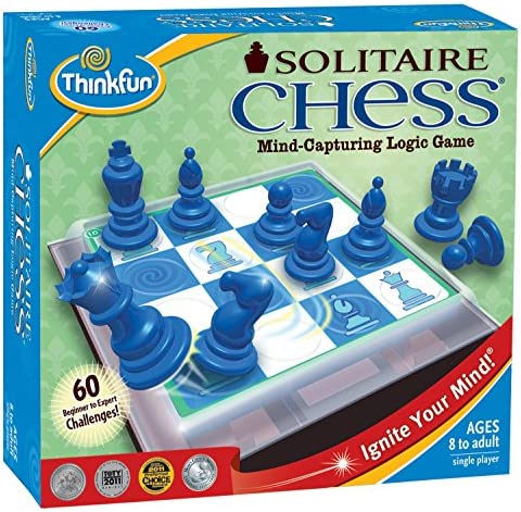 Think Fun Solitaire - Juego de ajedrez [Importado de Reino Unido]: Amazon.es: Juguetes y juegos