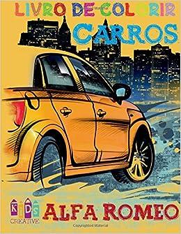 Carros Alfa Romeo para colorir para crianças ~ Páginas de ...