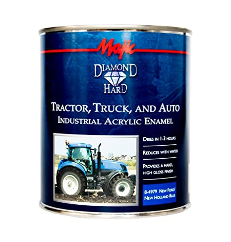 Acrylic Enamel Paint >> Amazon Com Majic Paints 8 4979 2 Diamond Hard Tractor Truck