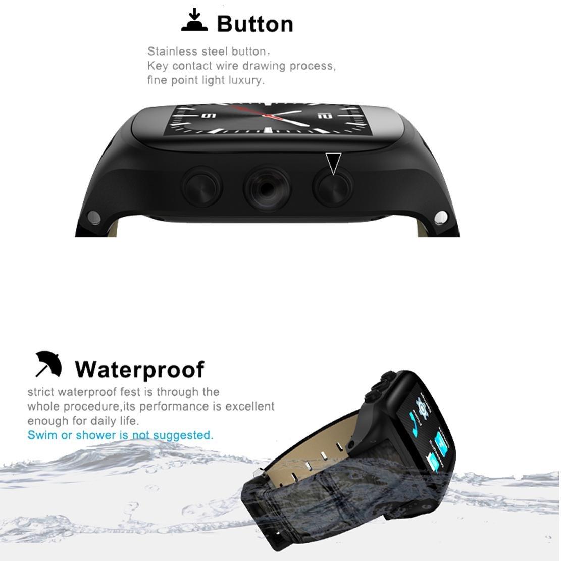 DUWIN - Reloj inteligente de negocios X01S Android5.1 GPS ...