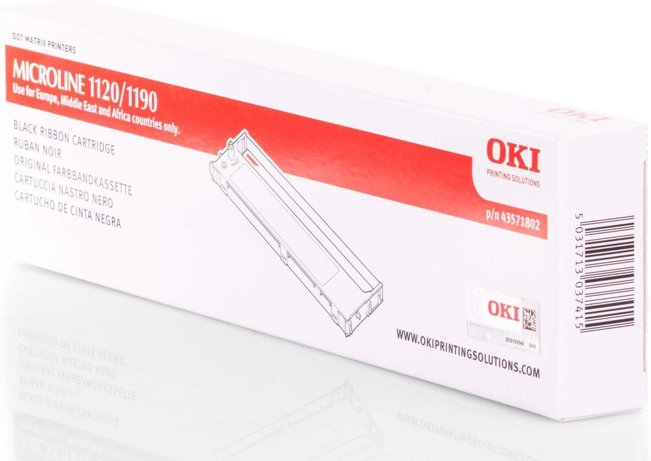Ruban Noir Original OKI 43571802 OKI Microline 1120