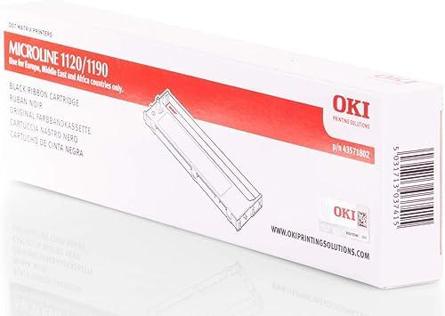 Original Oki 43571802 Nylonband Black Für Oki Microline 1120 Bürobedarf Schreibwaren