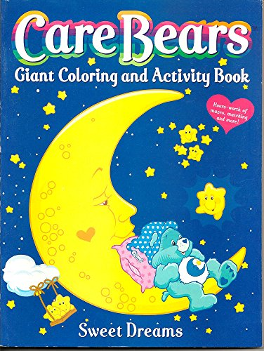 Care Bears Giant Coloring and Activity Book: Sweet Dreams