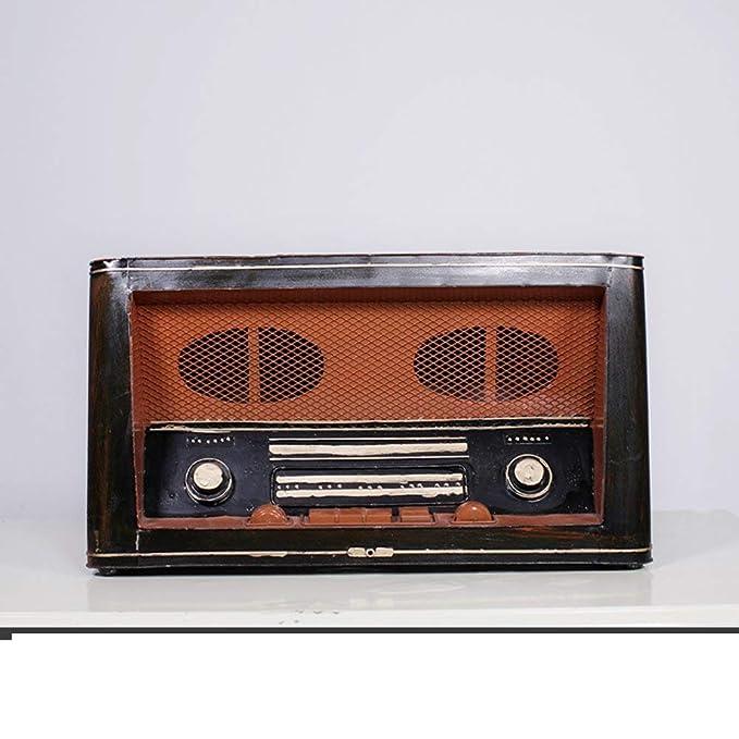 SED Decoraciones-Retro decoración de exhibición de Modelo de Radio ...