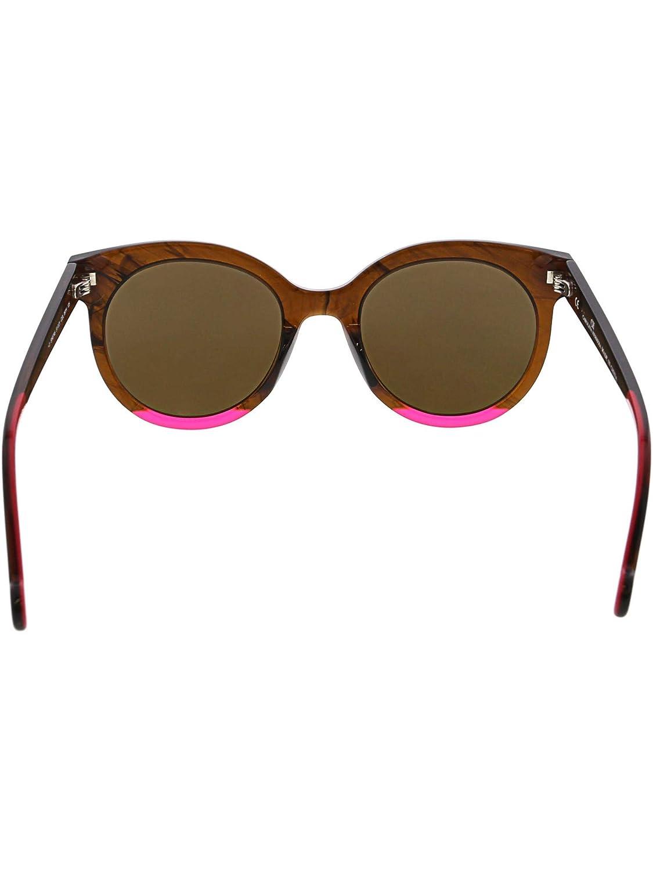 Sunglasses CH by Carolina Herrera SHE 745 Brown Horn 06YH