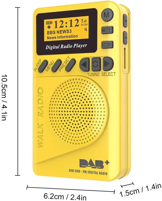 Docooler HanRongDa HRD-737 Tragbarer Full Band Radio Aircraft Bandempf/änger FM//AM//SW//CB//UKW//Air//VHF-Weltband mit LCD-Anzeige(Schwarz)