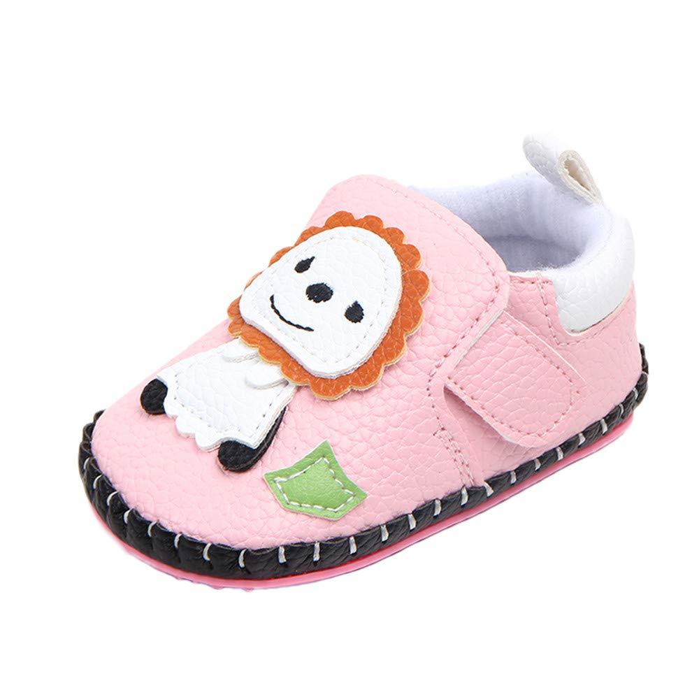 Zapatos de Primeros Pasos para Bebe Niñas Niños Moda Otoño Invierno 2018 PAOLIAN Zapatos de Vestir Zapatillas de Estar por Casa para recién Nacidos Calzado Cuero de PU Suela Blanda Navidad