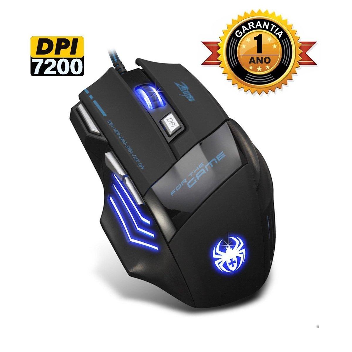 Nueva versión Ratón Mouse para PC Gaming con DPI CorVik ZELOTES T