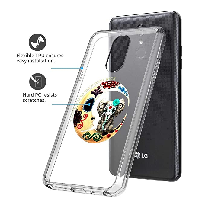 Amazon.com: Elephant Moon LG Stylo 4 Clear Case Slim ...