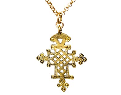 Amazon long ethiopian style cross pendant tribal filigree long ethiopian style cross pendant tribal filigree ornate necklace aloadofball Choice Image