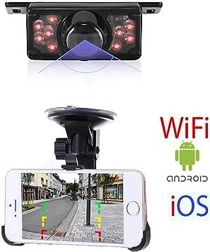 RFK-94 - Cámara de visión Trasera inalámbrica WiFi Compatible con ...