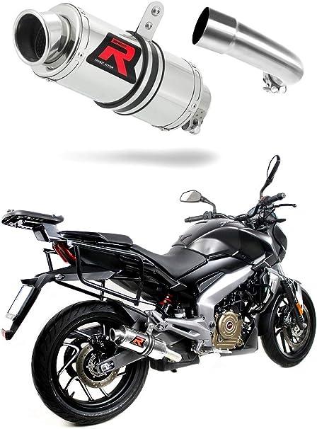Dominar 400 Escape Moto Deportivo Gp I Silenciador Dominator Exhaust Racing Slip On 2016 2017 2018 Amazon Es Coche Y Moto