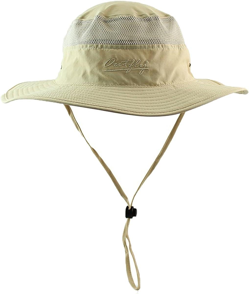 QLFA Apparelsales Womens Mens Sun Hat Fishing Cap Net Quick-Dry Hat