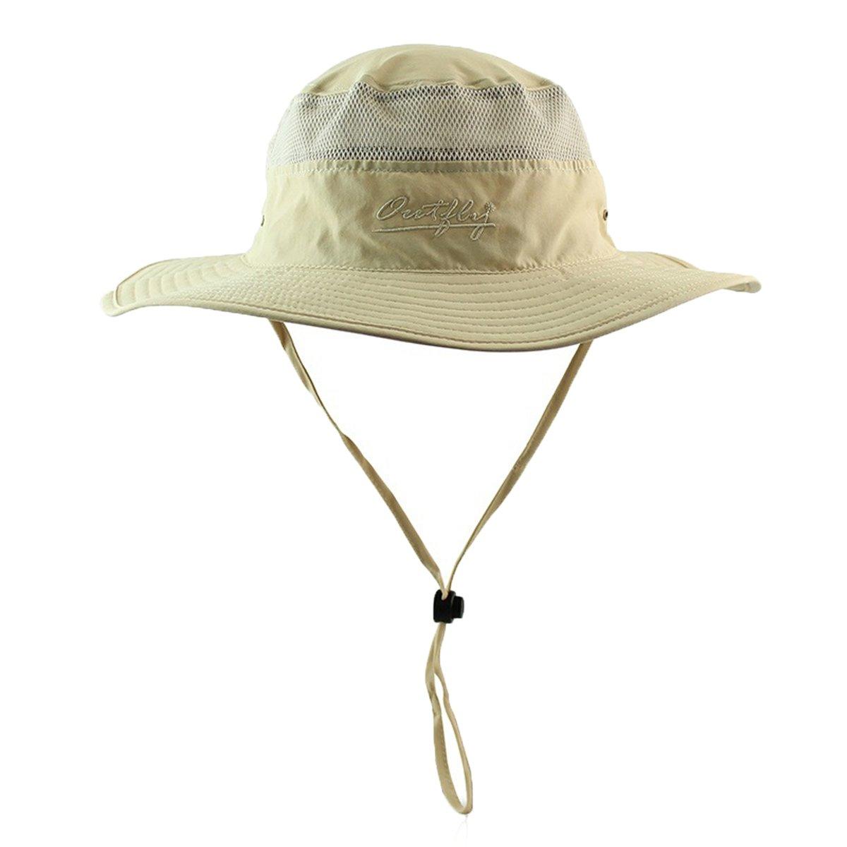 Apparelsales Women's Men's Sun Hat Fishing Cap Net Quick-dry Hat QLFA CA20151226-1