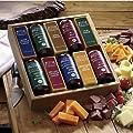 10-Piece Taste Tempting Cheese & Sausage Gift Box from Wisconsin Cheeseman