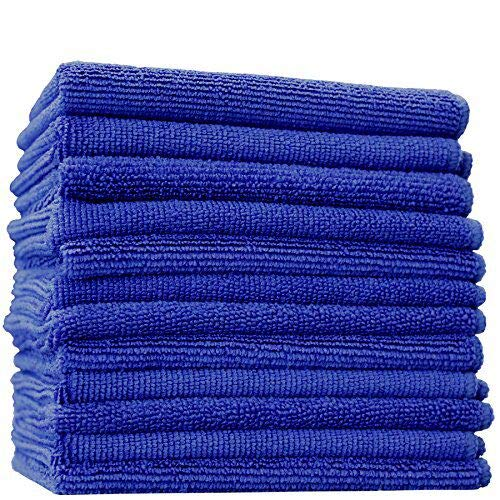 Microfiber Towel Rag Company: (12-Pack) 14 In. X 14 In. Commercial Grade All-Purpose