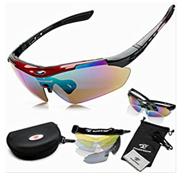 SaySure - Cycling Glasses Bike Goggles Sports Bicycle Sunglasses lWYfY4P8F