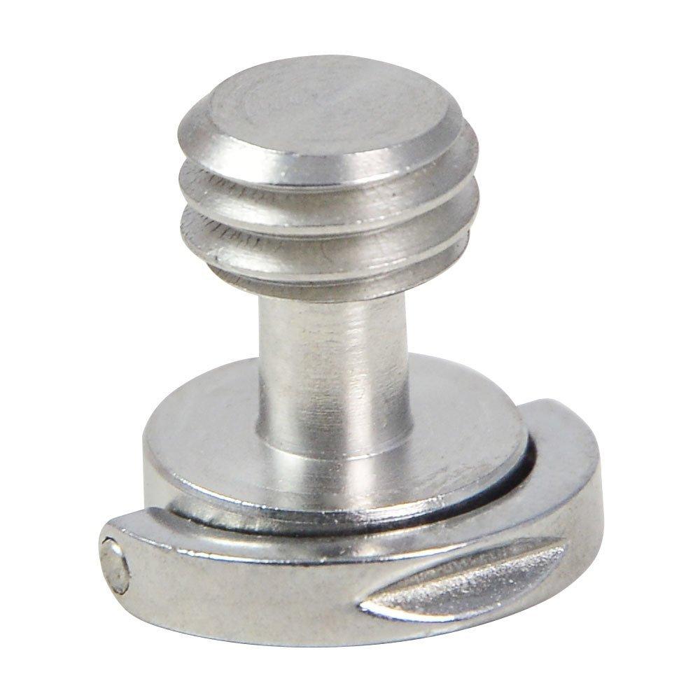 /ø12/mm X H15/Mm MENGS/® 4/pezzi 3//8/vite con materiale in acciaio inox per treppiede//monopiede//piastra a sgancio rapido//macchina fotografica della vite