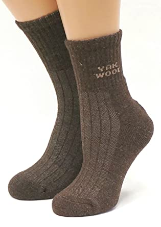 15d7ffe27f2cf Amazon.com: Very warm 90% Yak Wool Socks for Men Women Unisex: Clothing