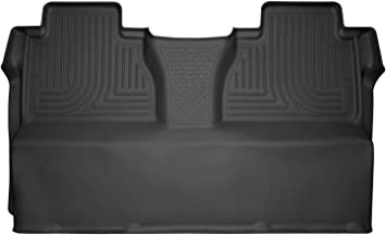 Husky Liners 53841 Black Second Seat Fits 14-19 Toyota Tundra CrewMax