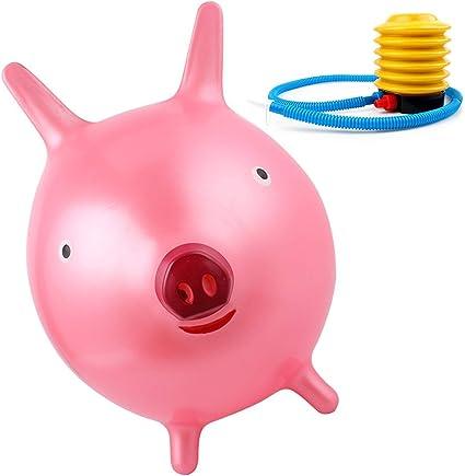 Amazon.com: Pelota de Hopper hinchable Hippity Hop Pig Rodeo ...
